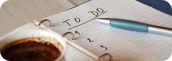 Planificar tareas