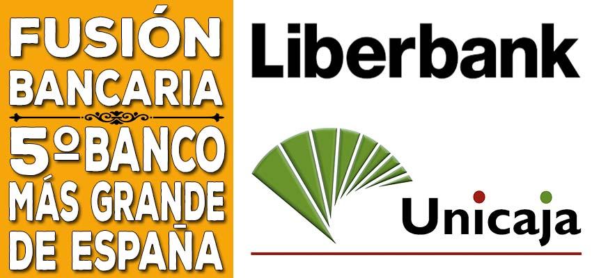 fusión entre Liberbank y Unicaja